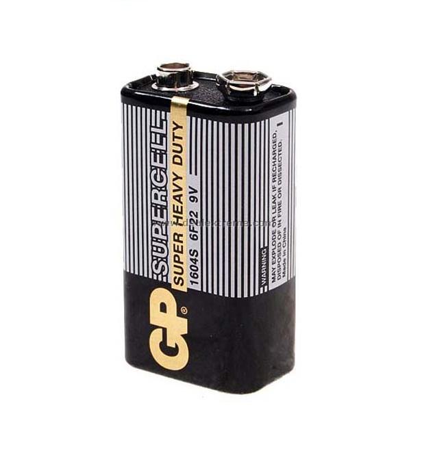 pin vuông 9v Carbon GP