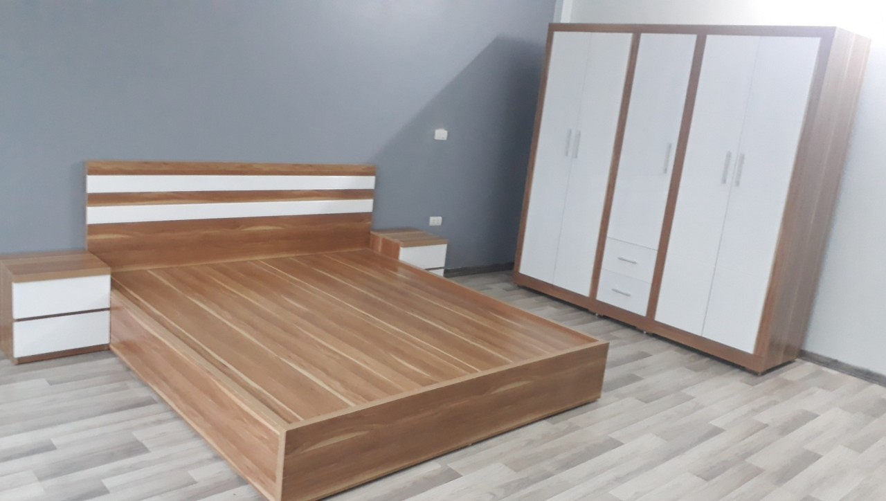Các sản phẩm như giường, tủ không thể thiếu tại các phòng ngủ