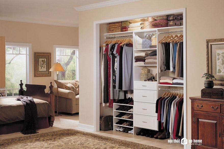 Kích thước tủ quần áo tiêu chuẩn
