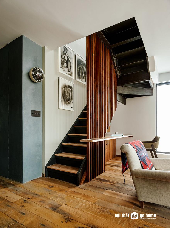 mẫu vách cầu thang đẹp nhất 11