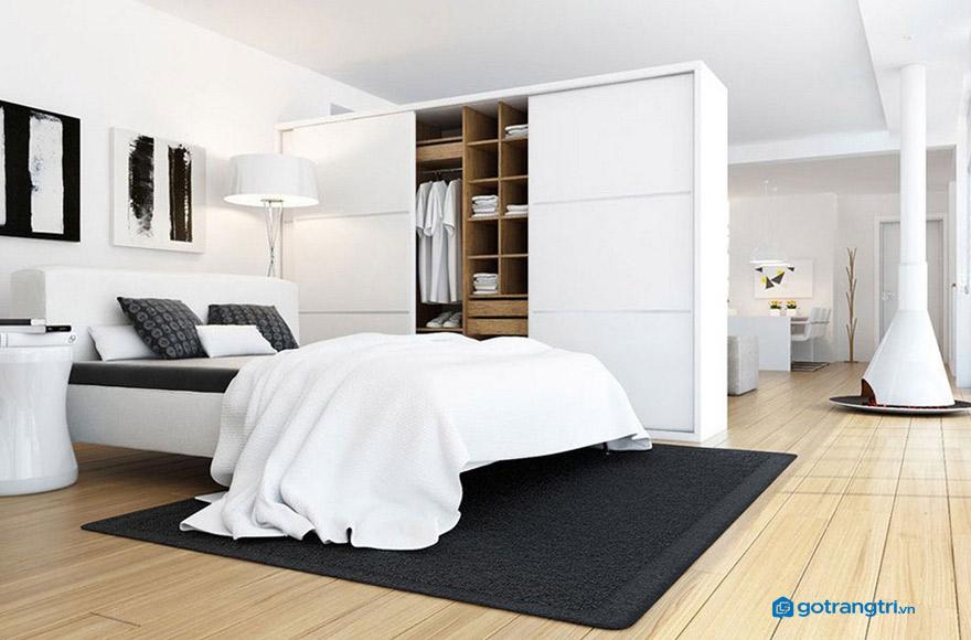 Mẫu vách ngăn phòng ngủ đẹp 31