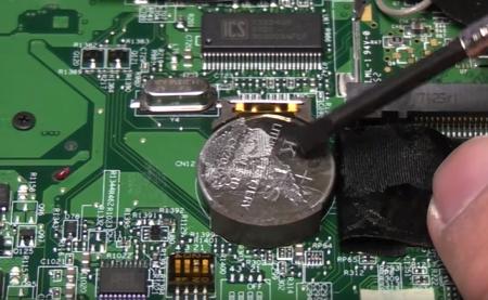 Pin cmos trên main Board - pin Trọng Tín