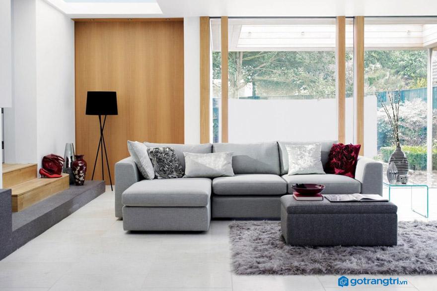 Nên mua ghế sofa nỉ hay da?