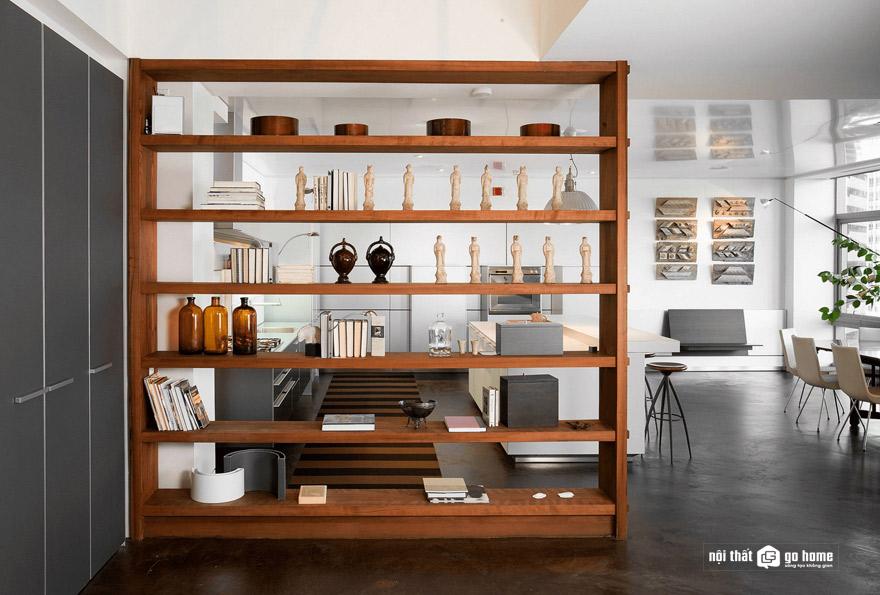 vách ngăn phòng khách và bếp mẫu 14