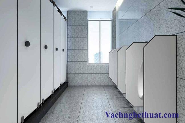 vách ngăn vệ sinh composite