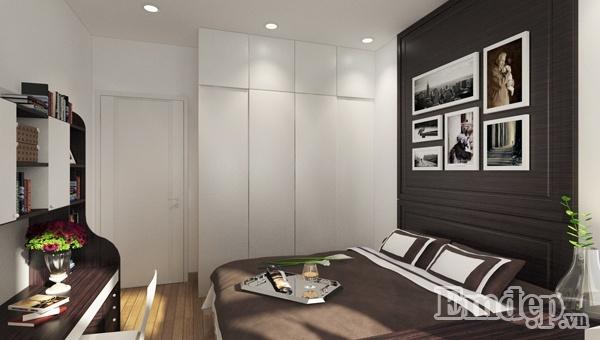 Dù lớp tường với được xây dày tới mấy bạn sẽ vẫn cảm thấy bất tiện thể khi phòng ngủ đặt cạnh các không gian sinh hoạt chung của gia đình.